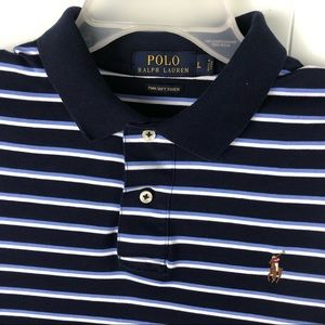Polo Ralph Lauren Pima Soft Touch Shirt Blue Men L